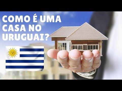 Uma Típica Casa Do Uruguai