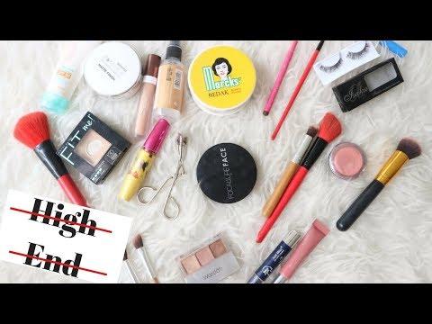 REKOMENDASI PRODUK PEMULA MAKEUP ANTI MAHAL ( + TUTORIAL) - Beginner Makeup Kit