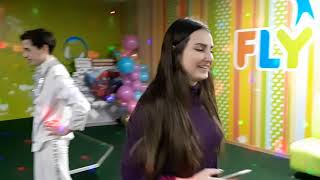 Шоу мыльных пузырей 😨 в Flay Kids