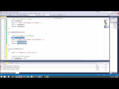 C++/Game Tutorial 10: Parameters and Forward Declarations!