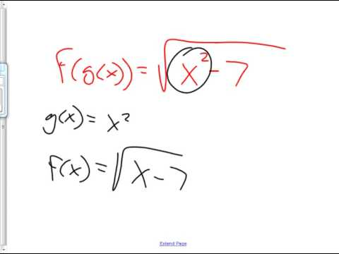 Precalc 10 25 2012 Decomposition And Review Of Domains Of Composite