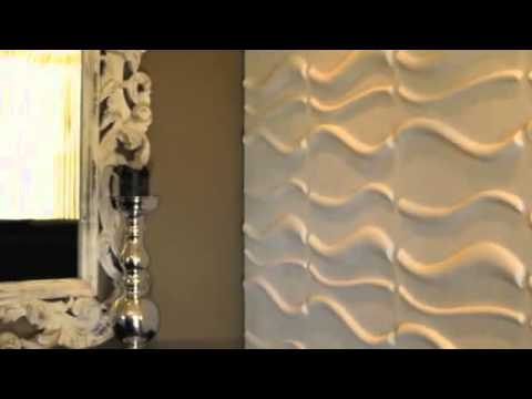 rev tement mural waves youtube. Black Bedroom Furniture Sets. Home Design Ideas
