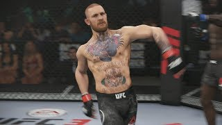 UFC 3 GOAT Career Mode - Moses vs Conor McGregor! EA Sports UFC 3 Gameplay PS4