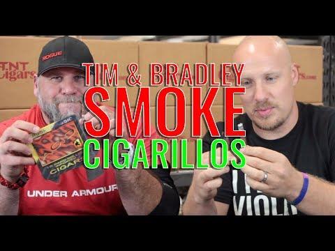 Tim & Bradley Smoke CIGARILLOS!!! (f. Cigarillos... obviously)