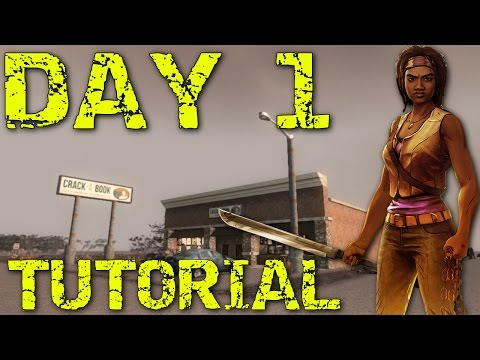 7 DAYS TO DIE PS4 Xbox Tips and Gameplay Tutorial  how to day one playthrough   console