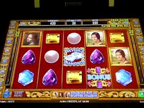 Da Vinci Diamonds $1 Bonus Game
