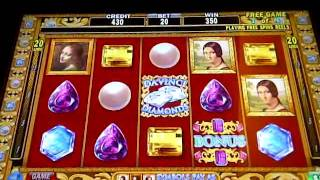 Da Vinci Diamonds $1 Bonus Game