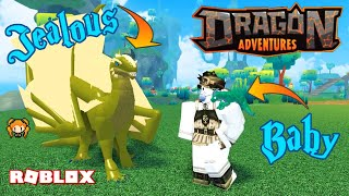 ROBLOX DRAGON ADVENTURES!! Even MORE AMAZING GAME! TAMING MY JEALOUS KID & BABY ROLEPLAY!