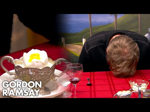 Gordon Dismayed That Chef Can't Even Cook A Boiled Egg | Hotel Hell