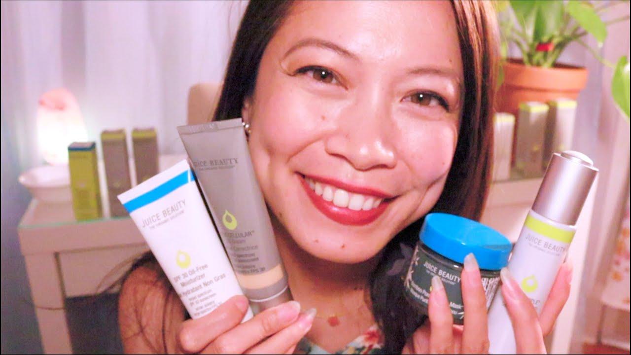 ASMR 🍏 Giving You A Juicy Beauty Facial Treatment (Juice Beauty Skincare)