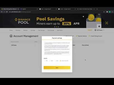 Binance Pool Setup + Merged Mining Tutorial