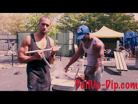 Do Pullups & Dips ANYWHERE! Portable Bars Ft Zef