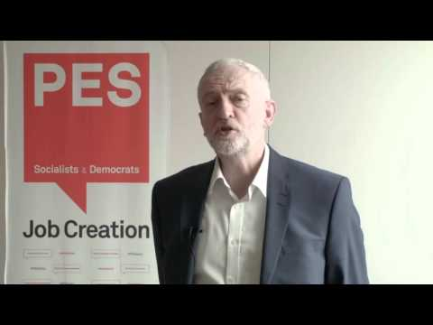 Jeremy Corbyn, leader of the UK Labour Party on UK in the European Union