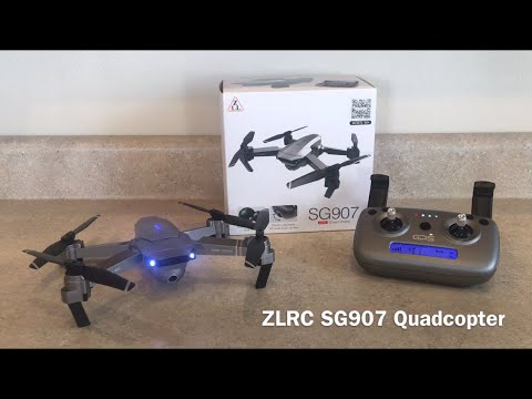 ZLRC SG907 Drone Review (TomTop)