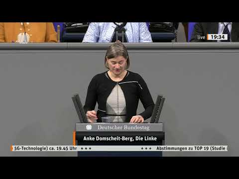 Anke Domscheit-Berg, DIE LINKE: 5G: Fakten statt Angstmache