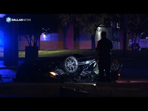 Driver Dies After Crashing Lamborghini Gallardo in Dallas
