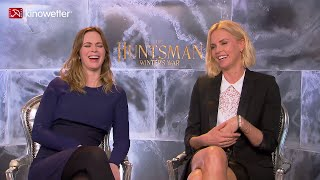 Interview Emily Blunt & Charlize Theron THE HUNTSMAN: WINTER'S WAR