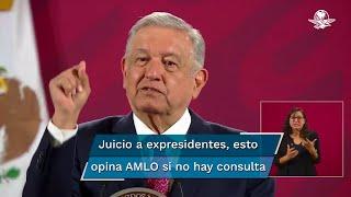 El Presidente Andrés Manuel López Obrador advirtió que presentará una reforma constitucional para modificar el artículo 35 de la Carta Marga y evitar la simulación