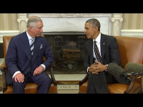Americans like royal family more than U.S. politicians, Obama tells Prince Charles