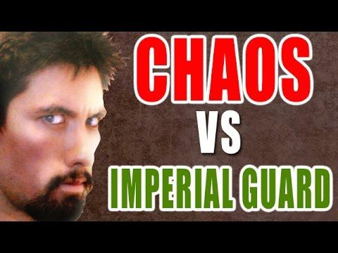 Chaos vs Astra Militarum Warhammer 40k Battle Report - Banter Batrep Ep 76