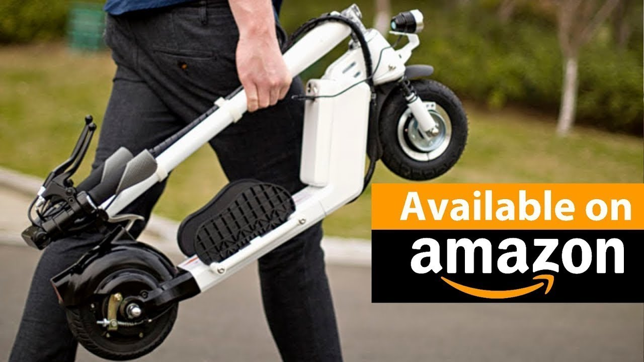 7 best new electric scooter inventions to buy on amazon. Black Bedroom Furniture Sets. Home Design Ideas