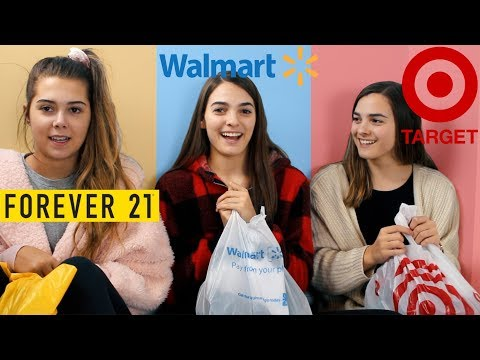 $100 Outfit Challenge! Walmart VS Target VS Forever 21