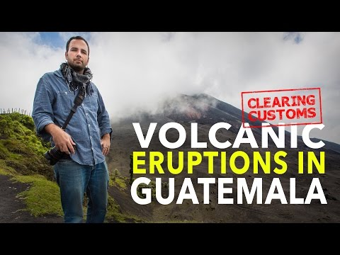 Clearing Customs: Volcanic Eruptions In Guatemala