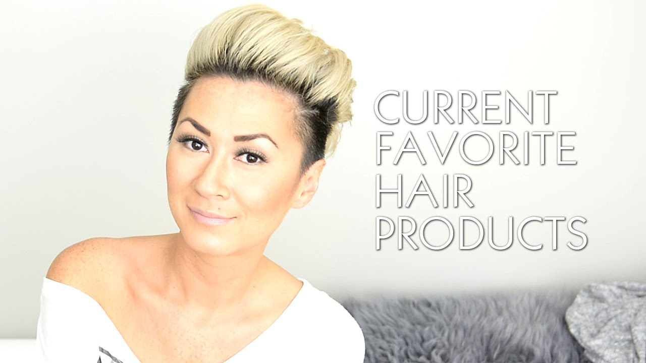 CURRENT FAVORITE HAIR PRODUCTS FOR SHORT HAIR
