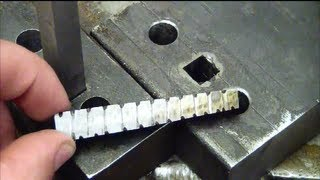Machining 101: How to drill a square hole at home without special tools. thumbnail