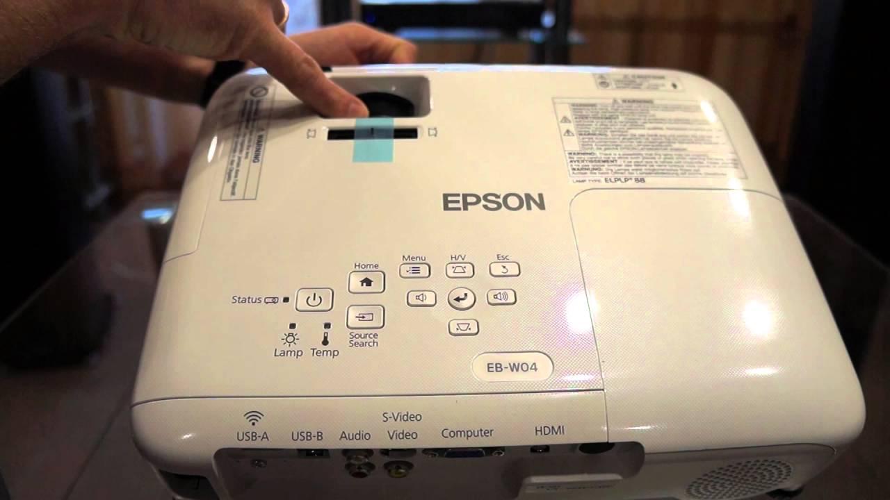 Epson Eb W 04 Youtube W04 Projector