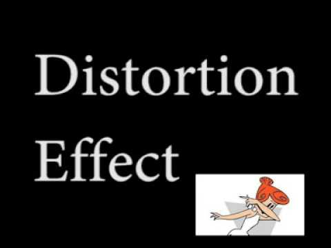 distortion effect dab meme sound that is distorted