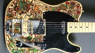 Bluesy Psychedelic Groove | Guitar Backing Track Jam in Gm