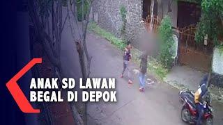 VIRAL! Detik-detik Anak SD Berani Lawan Begal di Depok, Lihat Videonya...