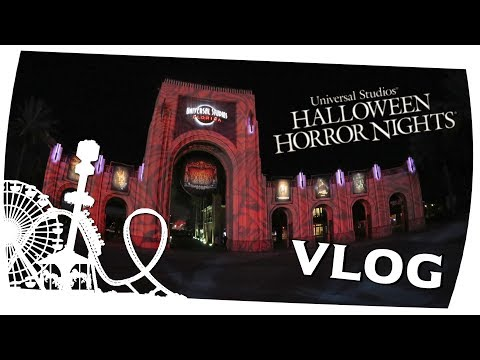 Halloween Horror Nights - Universal Studios Florida - Orlando Tour Tag 13 - OnTour Vlog