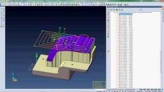 VISI 2016 R1 - 3D CAM Schruppen