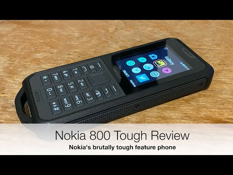 Nokia 800 Tough Review