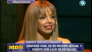 El récord íntimo de Gisela Bernal