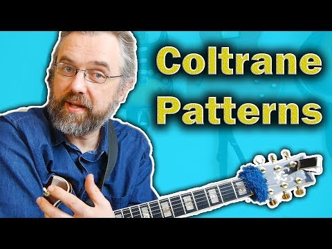How to Play and Use Coltrane Patterns - Easy and Useful