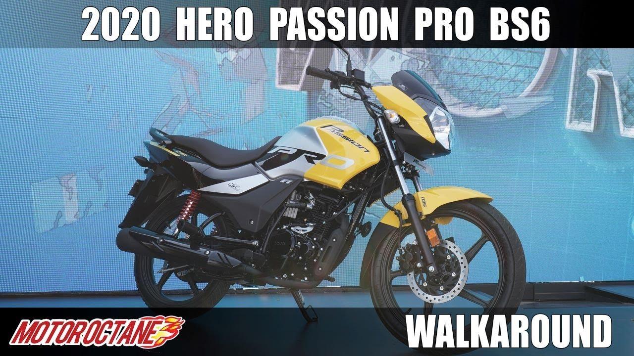 2020 Hero Passion Pro Bs6 Kya Baat Hindi Motoroctane Youtube