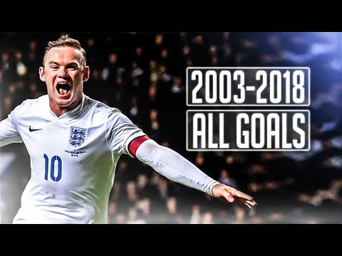 Wayne Rooney | All 53 Goals For England | Goodbye Legend | HD