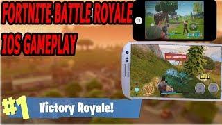 I Got The Invite Code-Fortnite battle royale mobile gameplay