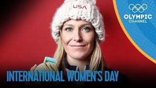Some Olympic Girl Power on International Women's Day | Olympic Channel
