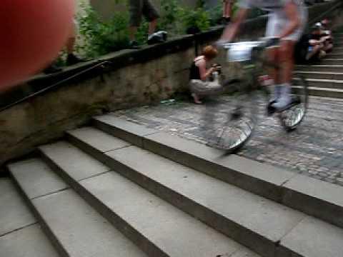 Prague Race of Stairs MTB Crit #2