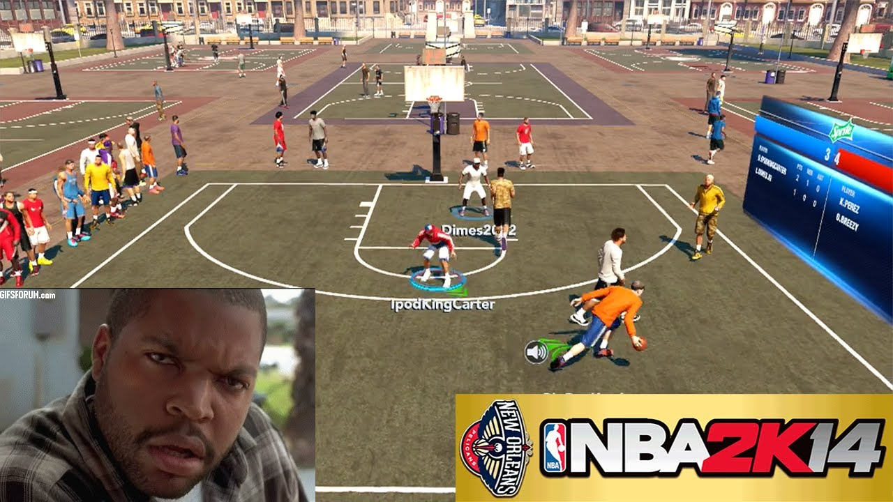 Nba 2k14 Ps4 The Park Wtf 2k Fix This Glitch Immediately 2v2 Gameplay Ipodkingcarter Youtube