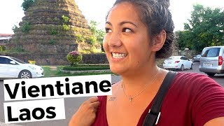 My top 5 things to see in Vientiane Laos.//Laos travel