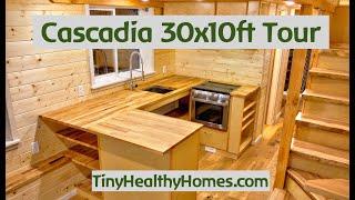 Cascadia 10x30ft Tiny House Tour.