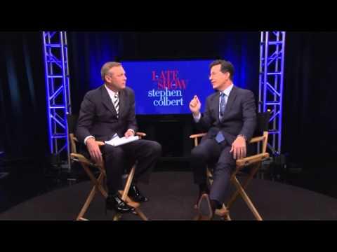 FULL INTERVIEW: Brad Johansen sits down with Stephen Colbert