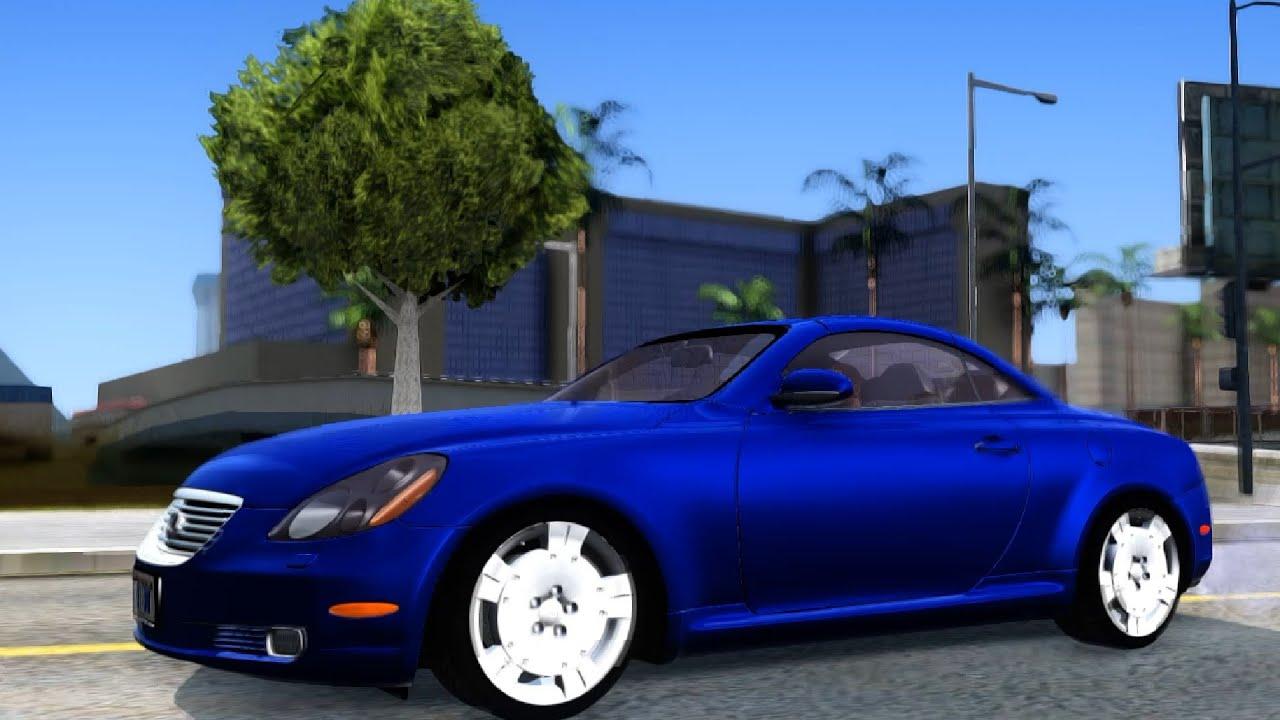 Lexus SC430 GTA San Andreas