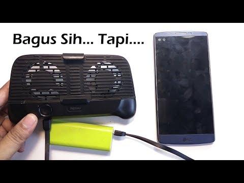 Review Kipas Pendingin Handphone Remax RT-EM01