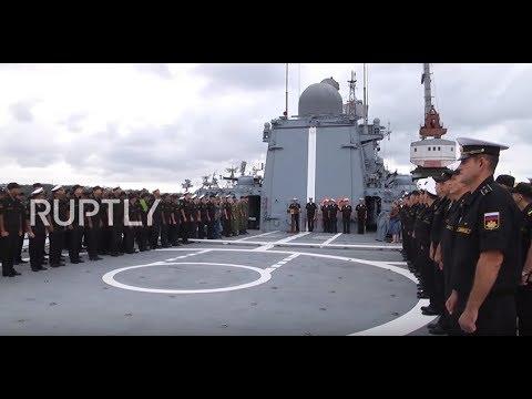Russia: Frigate involved in Deir ez-Zor battle returns home